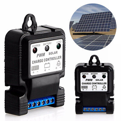 6V 12V 10A Auto Solar Panel Charge Controller Battery Charger Regulator Useful