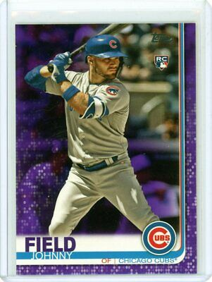 2019 Topps Series 2 Purple Parallel SP Johnny Field RC Rookie #606 Chicago Cubs