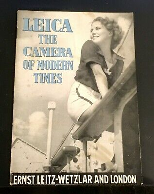 Leica The Camera of Modern Times Photo List 7343c & List Photo 7702