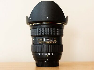 Tokina AT-X PRO 11-16mm F/2.8 DX II Lens Nikon Fit - Excellent Condition!