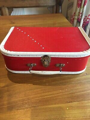 Vintage Retro Childs Suitcase 1950 & 1960's