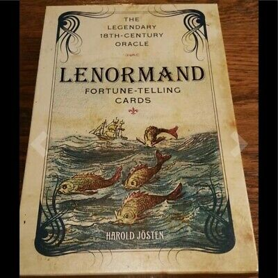 The Lenormand Fortune-telling Tarot Deck cards RARE