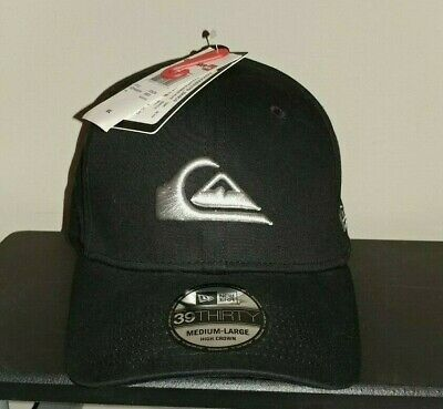 info for 81a4a 007c9 NWT Quiksilver 39THIRTY Mens Mountain and Wave Hat Baseball Cap Medium-Large
