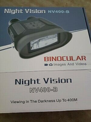 NV-400 7X31mm Digital Night Vision Binocular with 2 inch TFT LCD and