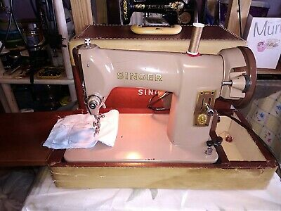 vintage Singer 185K electric sewing machine, GWO, good condition