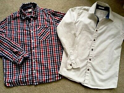 Two Boys Shirts Age 13, Jasper Conran, Lee Cooper