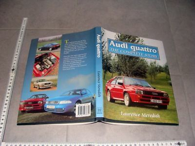 """Buch Book Audi quattro """"The complete Story"""" by Laurence Meredith"""" Rally Technic"""
