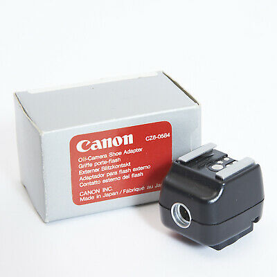 CANON TTL HOT SHOE ADAPTER CZ6-0584, Boxed