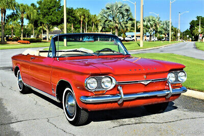 1964 Chevrolet Corvair Monza Spyder Convertible manual