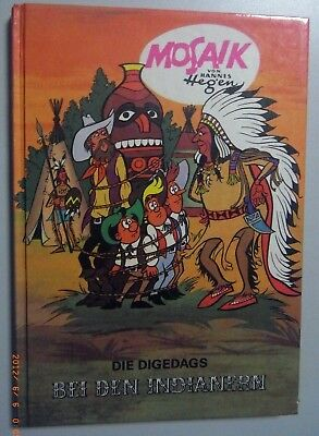 Mosaic by Hannes Hegen ~ at the Indians ~ Band 3 Publisher Young World