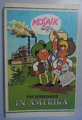 The Digedags in America Mosaic by Hannes Hegen Publisher Young World 1989 GDR