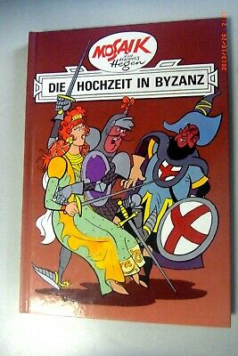 Mosaic by Hannes Hegen~The wedding in Byzantium~Publisher Young World Volume 5