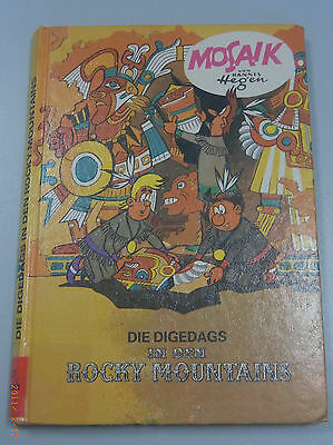 Die Digedags in the Rocky Mountains~Mosaic by Hannes Hegen ~ Publisher Young