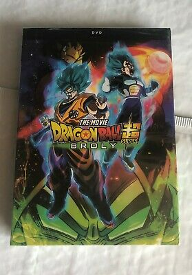 Dragon Ball Super Broly the Movie - DVD Dragon Ball Z Broly DBZ Brand NEW