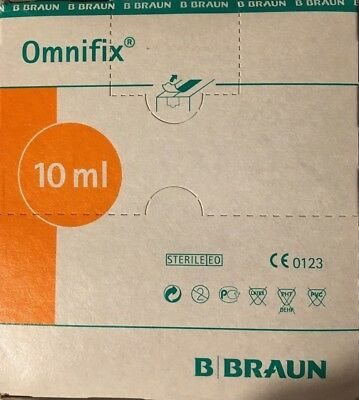 BBraun Omnifix  10ML Medical Sterile Syringes  Hypordermic  CE MARKED Braun