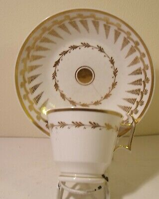 Early 19th Century Spode Cup And Saucer 2467 A/F