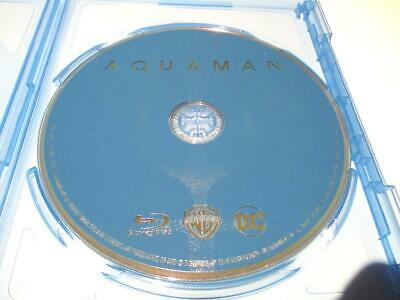 Aquaman (Blu-ray Disc Only, 2018) Never Viewed NO CASE FAST SHIPPING!