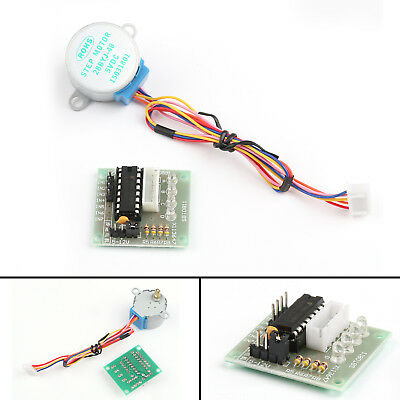 1x DC 5V Stepper Motor +ULN2003 Driver Test Module Board 28BYJ-48 For Arduino UE
