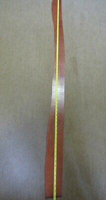 """Tan Bridle  Leather Off Cut 66"""" X 4"""" (167 X 10Cm)  6Mm  Thick -  Clearance"""