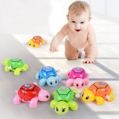 Best Infant Small Turtles For Baby Kids Crawling Wind Up Toy Educational Toys