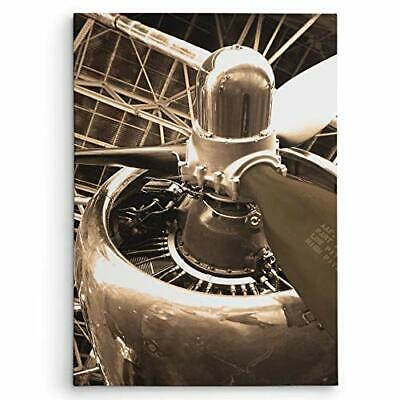 WEXFORD HOME DC 4 Aircraft Gallery Wrapped Canvas Wall Art, 16x20,