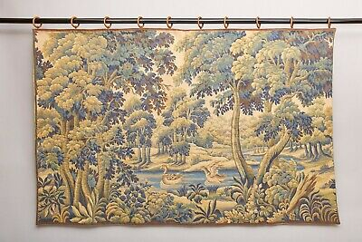 Large 2m French Tapestry 17th Century Forest Scene