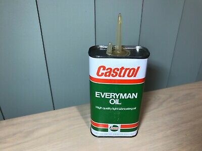 Unopened Castrol Everyman Handy Oil Can