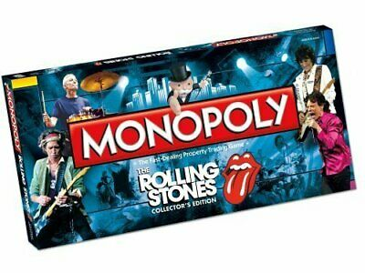 USAopoly MONOPOLY ROLLING STONE Collector's Edition Board Game NEW Sealed Hasbro