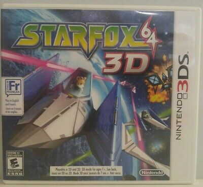 Star Fox 64 3D for Nintendo 3DS N3DS Complete in Box CIB Authentic Clean Tested