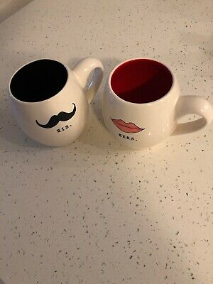 b1e9d10d16 Coffee Mugs Gifffted His And Hers Mugs, Matching Couples, Unique Wedding  Happy 2