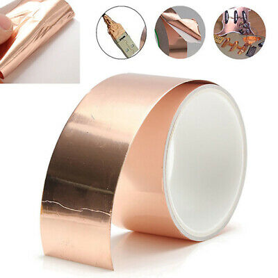 For Guitar Pickup Shielding Screening Copper Foil Tape Conductive Adhesive Parts