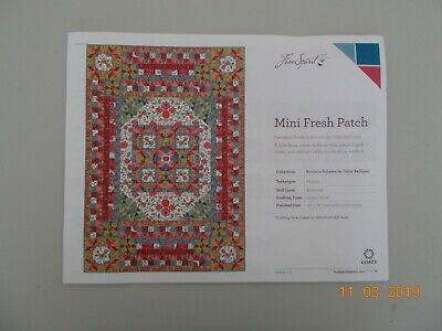 Odile Bailloeul Broderie Boheme Fresh Patch Quilt Kit - NOW REDUCED TO SELL!