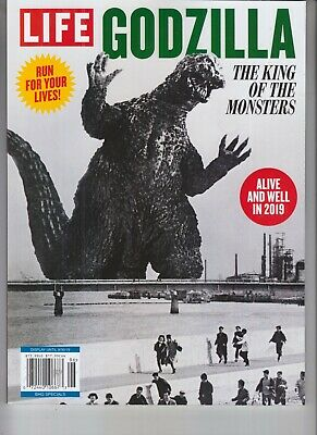 Godzilla The King Of The Monsters Life Magazine Booklet 2019 Run For Your Lives!