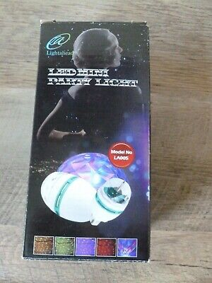 Lightahead LA005 Rotating LED Strobe Bulb Multi Changing Color Free Shipping!