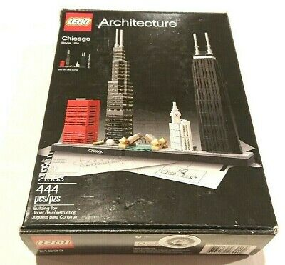 LEGO 21033 CHICAGO  BRAND NEW SEALED ARCHITECTURE SET SLIGHTLY DAMAGED BOX