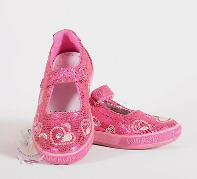 38b92f42 Lelli Kelly Girl's Canvas Glitter Fashion Mary Janes Size 12 US /30 EU $69  NWOB