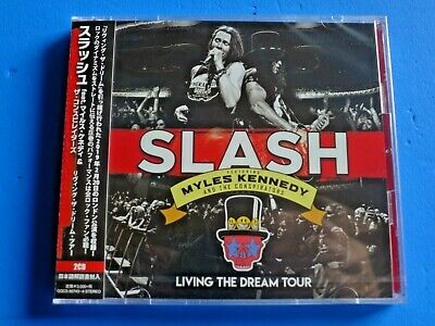 2019 Japan 2 Cd Slash Myles Kennedy And The Conspirators Living The Dream Tour