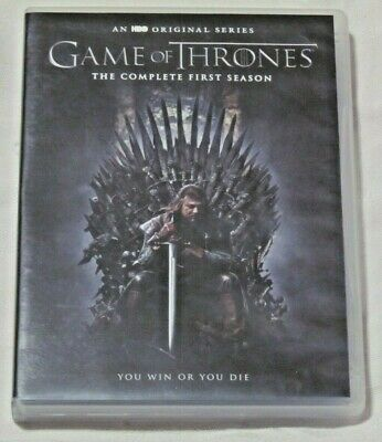 GAME OF THRONES Complete First Season HBO 5-Disc DVD Set