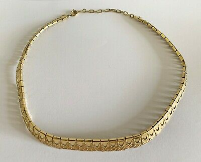 Alte Kette, Collier, Gold Double (Golddoublé), Goldplated, punziert: AMERICA