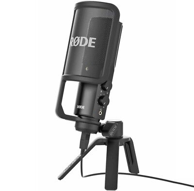 Rode Nt-Usb Versatile Condensor USB Microphone in Studio Quality Incl.