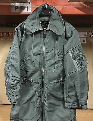GENUINE USAF VIETNAM 1960's COVERALL FLYING MEN'S CWU-1/P GREEN EX MINT !!! MS