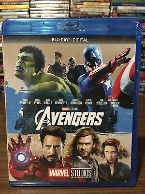 The Avengers (Blu-Ray + Digital 2012)  - Marvel Studios Phase 1