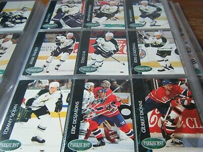 441   Parkhurst   1992-1993   Mint     American Ice Hockey Cards  In Binder