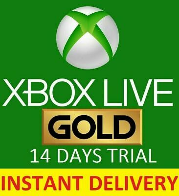 INSTANT DELIVERY 14 Days Xbox Live Gold Membership Code Xbox 360 Subscription