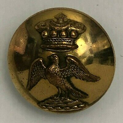 Antique gilt Livery Button Earl & Baron Howe 25.5  firmin & son