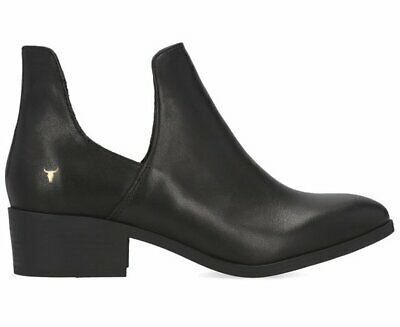 Windsor Smith Women's Leather Ricky Boot - Black
