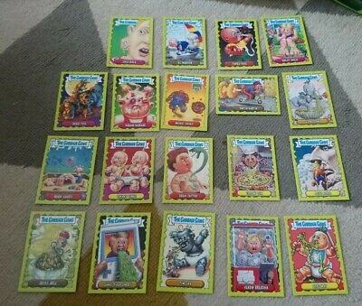 The Garbage Gang Tops Collectors Cards X19 All Different