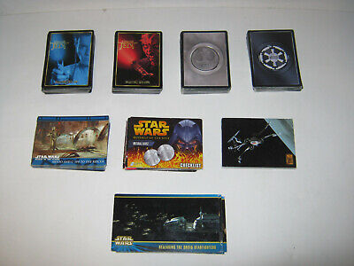 Star Wars Collectors / Trading Cards ( 195 Cards )