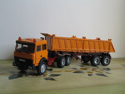 Camion Old Cars Iveco Semi Remorque Benne  Ref 70210
