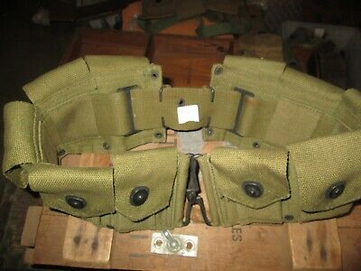 Wwii Ww2 M1 Garand Cartridge Belt Ammo -Belt Usmc Us Army Original M-1903
